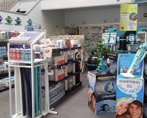 Wollongong Pool Care Shop Interior